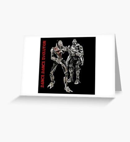 Dance Dance Evolution Greeting Card