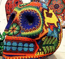 Mexican Beaded Skull by SylviaS
