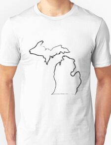 Painted Michigan T-Shirt