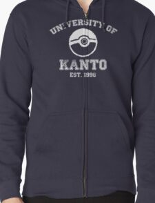 University of Kanto Zipped Hoodie