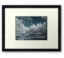 The Blue Lagoon Framed Print