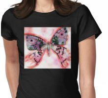 Butterly 1 Womens Fitted T-Shirt