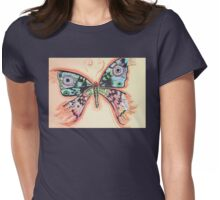 Butterfly 2 Womens Fitted T-Shirt