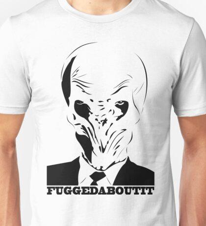 The Silence fuggedaboutit Unisex T-Shirt