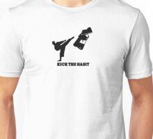 KICK THE HABIT Unisex T-Shirt
