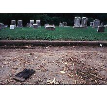 Cemetery Photographic Print