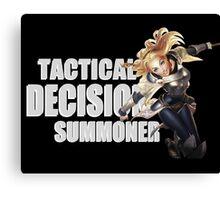 Lux - Tactical Decision Summoner - League of Legends Canvas Print