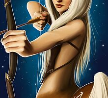 The Zodiac: Sagittarius by Lisa Furze
