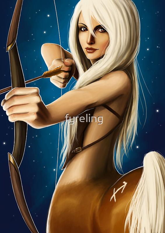 The Zodiac: Sagittarius by Lisa Furze