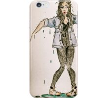 Drip drop iPhone Case/Skin