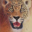 Imminent - Leopard totem by Cheryl White