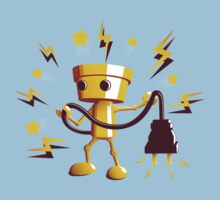 Gold Robo Buddy Kids Clothes
