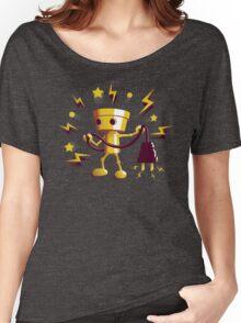 Gold Robo Buddy Women's Relaxed Fit T-Shirt