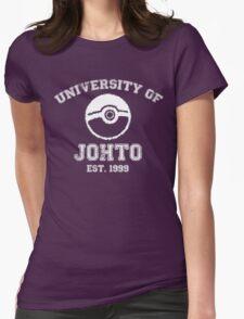 University of Johto Womens Fitted T-Shirt