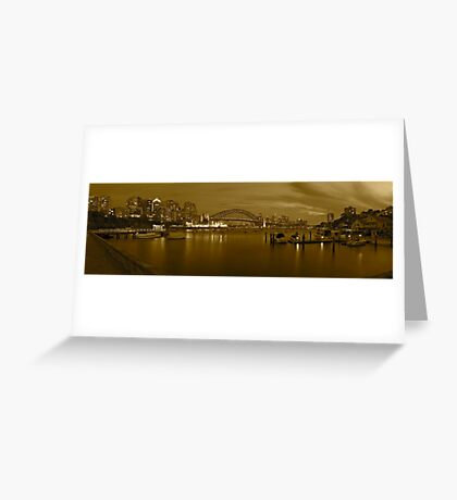 Lavender bay oldies Greeting Card