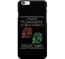 Monster Hunter Required - Rathalos and Rathian iPhone Case/Skin