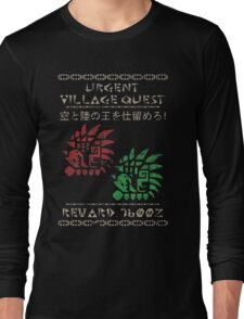 Monster Hunter Required - Rathalos and Rathian Long Sleeve T-Shirt