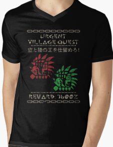 Monster Hunter Required - Rathalos and Rathian Mens V-Neck T-Shirt