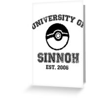 University of Sinnoh Greeting Card