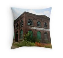 Coleman Brothers Salvage Throw Pillow