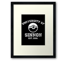 University of Sinnoh Framed Print