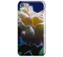 Yellow Rose and Sky - Glow iPhone Case/Skin