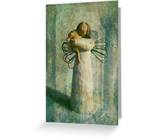 Found Shelter At Last Greeting Card