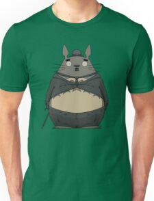 Charlie Chaplin Totoro Unisex T-Shirt