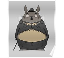 Charlie Chaplin Totoro Poster