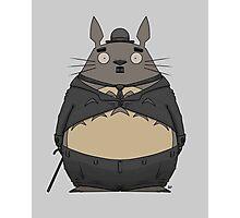 Charlie Chaplin Totoro Photographic Print