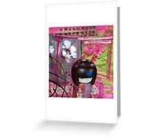 japantown girl Greeting Card