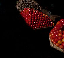Tomatoes, Mysore market by Syd Winer