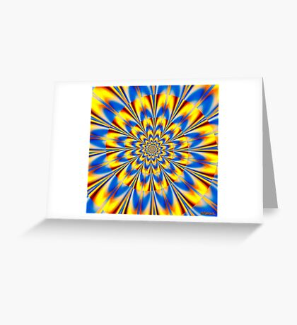 Dr. Who – The Spiral of Time Greeting Card