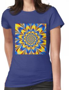 Dr. Who – The Spiral of Time Womens Fitted T-Shirt