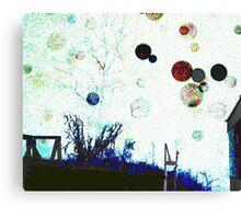 Gossamer discs Canvas Print