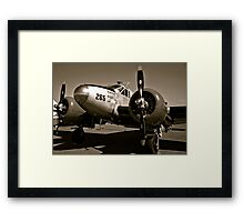 So Noran Beauty 265 Vintage Aircraft Framed Print