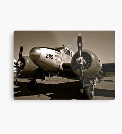So Noran Beauty 265 Vintage Aircraft Metal Print