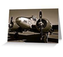 So Noran Beauty 265 Vintage Aircraft Greeting Card