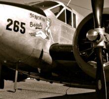 So Noran Beauty 265 Vintage Aircraft Sticker