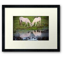 Dinner for Two Framed Print