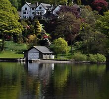 On Lake Windermere by Karen E Camilleri