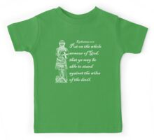 THE WHOLE ARMOUR OF GOD Kids Tee