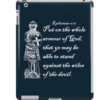 THE WHOLE ARMOUR OF GOD iPad Case/Skin