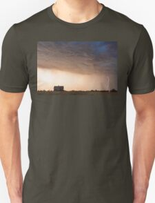 Lightning Striking On The Colorado Prairie Plains T-Shirt