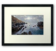Myponga Beach Framed Print