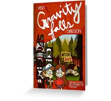 Visit Gravity Falls Greeting Card
