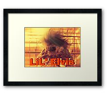 """LiL' Elvis""... prints and products Framed Print"