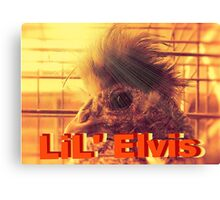 """LiL' Elvis""... prints and products Canvas Print"