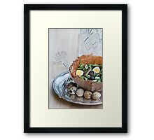 Bowl of Salad Framed Print