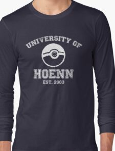 University of Hoenn Long Sleeve T-Shirt